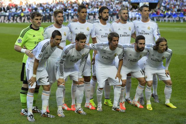 Predicting Real Madrid's Starting XI for 2014-15 La Liga Opener vs. Cordoba