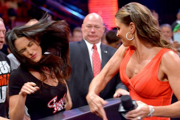 Stephanie McMahon vs. Brie Bella Is WWE's Sleeper Feud for SummerSlam