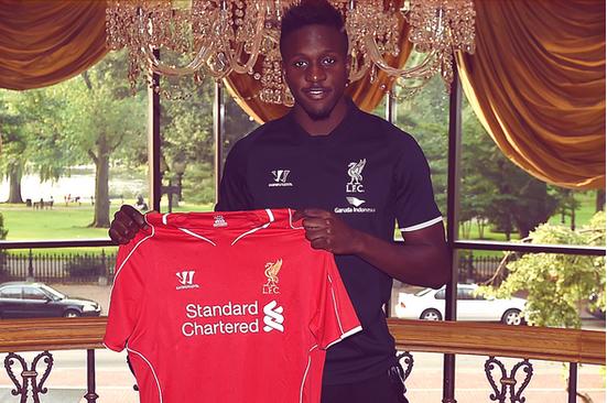 Liverpool Announce £10M Signing of Divock Origi