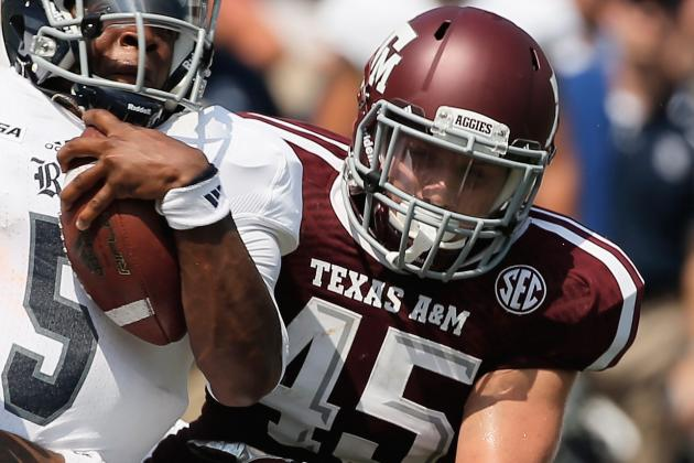 2014 Texas A&M Pre Season Breakdown: Mike Linebacker