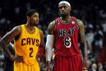 LeBron, Kyrie Already Talking Cavs' Season