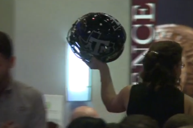 Autographed Johnny Manziel Helmet Auctions for $15,500...