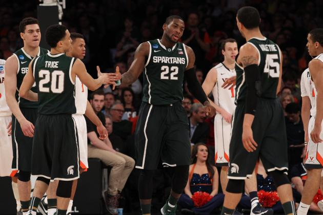 Michigan State Basketball: Spartans' Best Situational Lineups for 2014-15