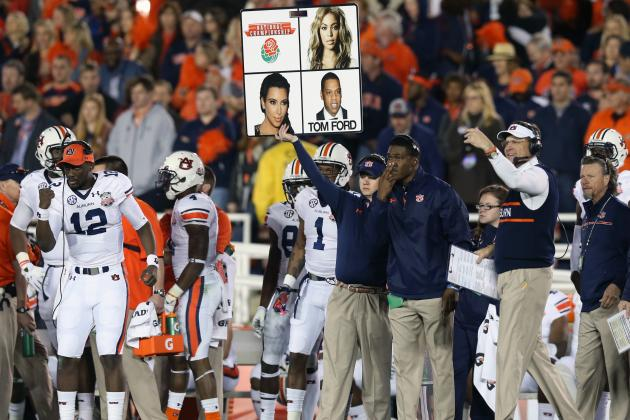 AU's Offense Keeps Evolving as SEC Defenses Race to Catch Up