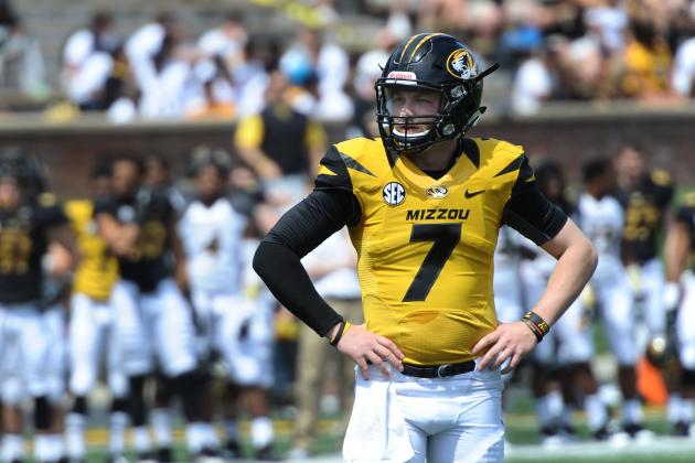 Quarterback Maty Mauk Ready to Run Mizzou Show