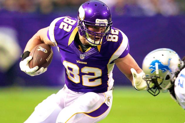 Is Kyle Rudolph's Extension with Vikings Smart Business, or Too Much, Too Soon?