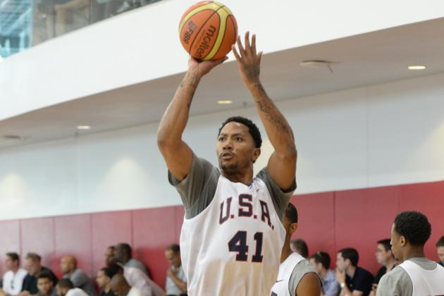 Derrick Rose Smart to Test Health with Team USA Prior to NBA Season