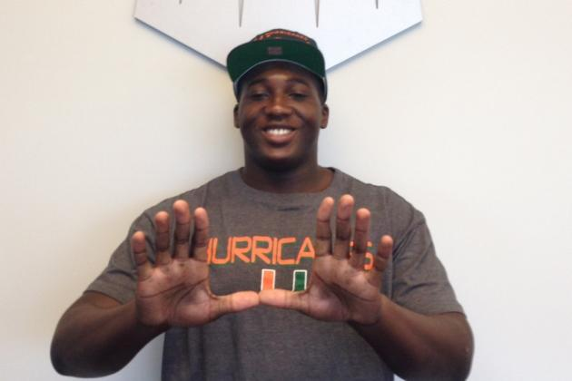 Q&A: 3-Star OL Tyree St. Louis Commits to Miami