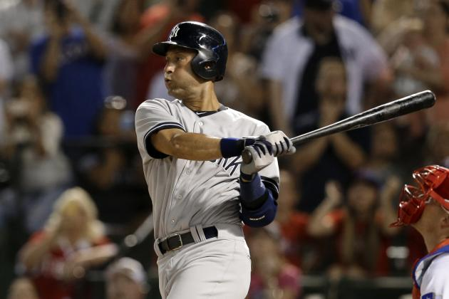 Yankees' Derek Jeter Moves Past Yastrzemski into 7th Place on All-Time Hits List