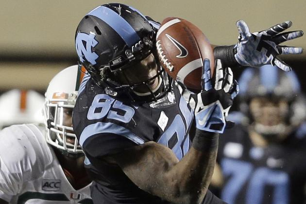Ebron Third Football Player in Four Years to Win UNC's Patterson Medal