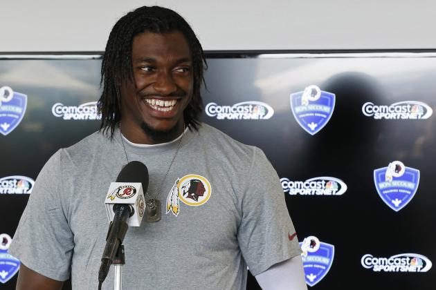 Redskins GM Bruce Allen Comments on Robert Griffin III's Performance in 2013