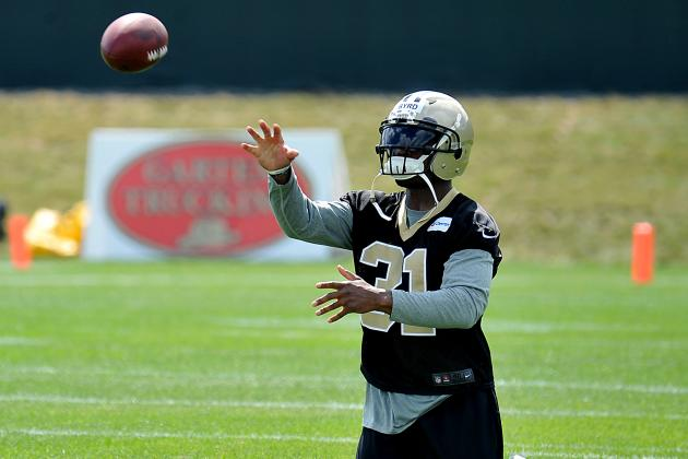 Jairus Byrd Limited in His First Practice