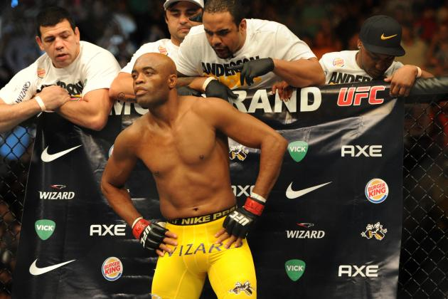 Anderson Silva vs. Nick Diaz: Superfight Will Be Biggest Non-Title Bout in Years