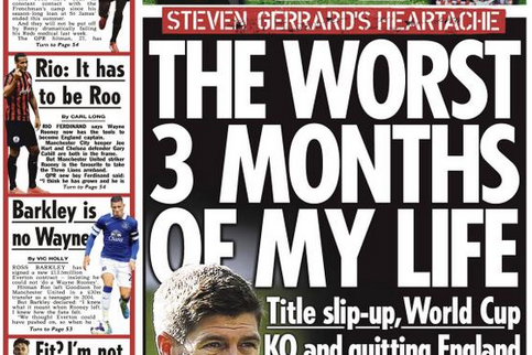 UK Back Pages: Ross Barkley's Future, No Quick Fix for Louis van Gaal and More