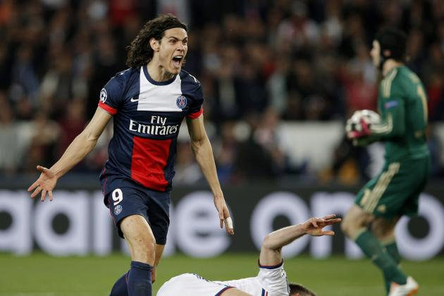 Which Premier League Club Should Sign PSG Striker Edinson Cavani?