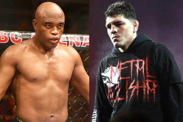Anderson Silva vs. Nick Diaz Officially Announced for January 31 UFC Event
