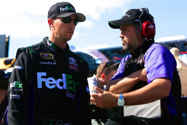 Denny Hamlin's Team Penalized 75 Points by NASCAR: Latest Details and Reaction