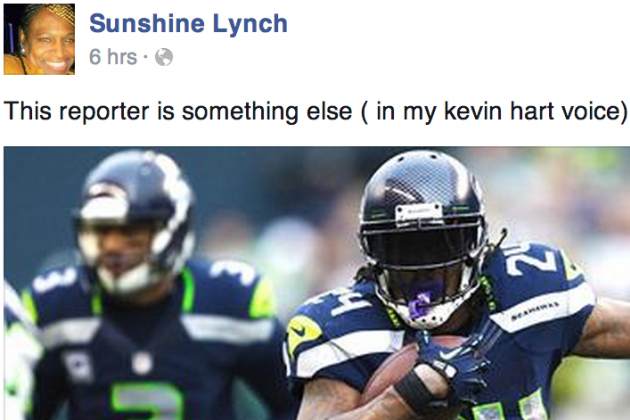 Marshawn Lynch's Mom: