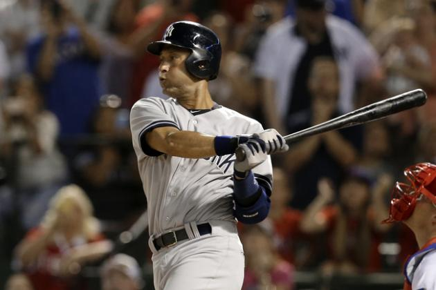 Derek Jeter: Stay 2 More Years, and Finish Top 3 in Hits?