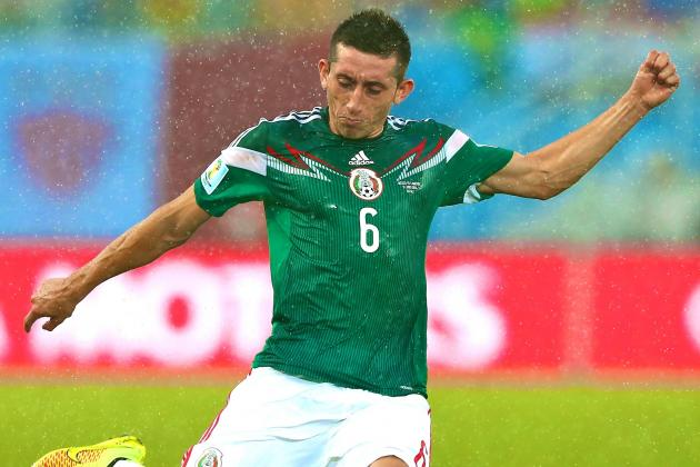 Is Mexico Midfielder Hector Herrera an Alternative to Sami Khedira for Arsenal?