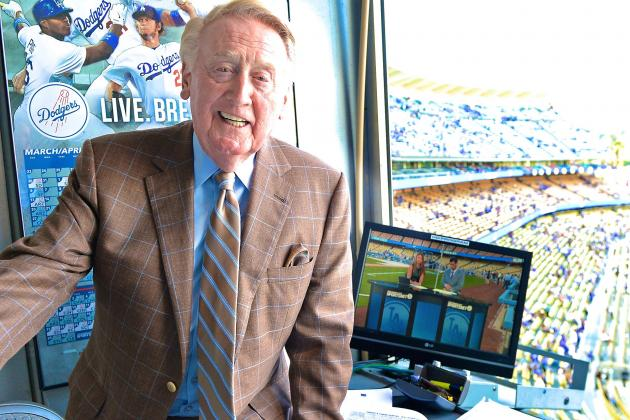 Vin Scully Will Return to Dodgers Broadcast for 2015 Season
