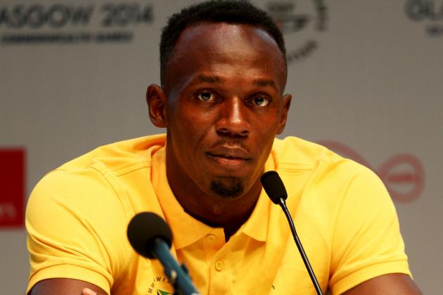 Usain Bolt Blasts 'Lies' After Report Claims He Slammed 2014 Commonwealth Games