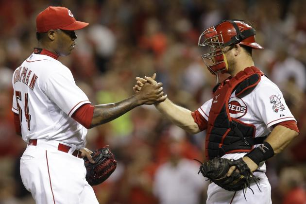 Cincinnati Reds' Aroldis Chapman Records Career Save No. 100