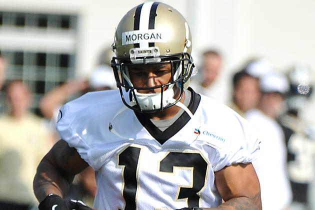 Morgan Aiming to Reclaim Role in Saints Pass Game
