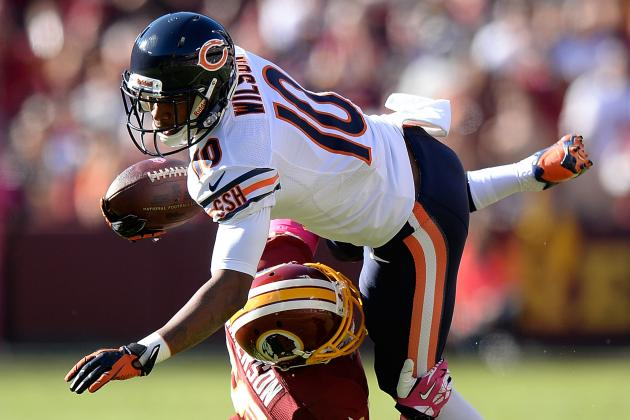 Debate: Who Will Emerge as Bears' No. 3 WR?