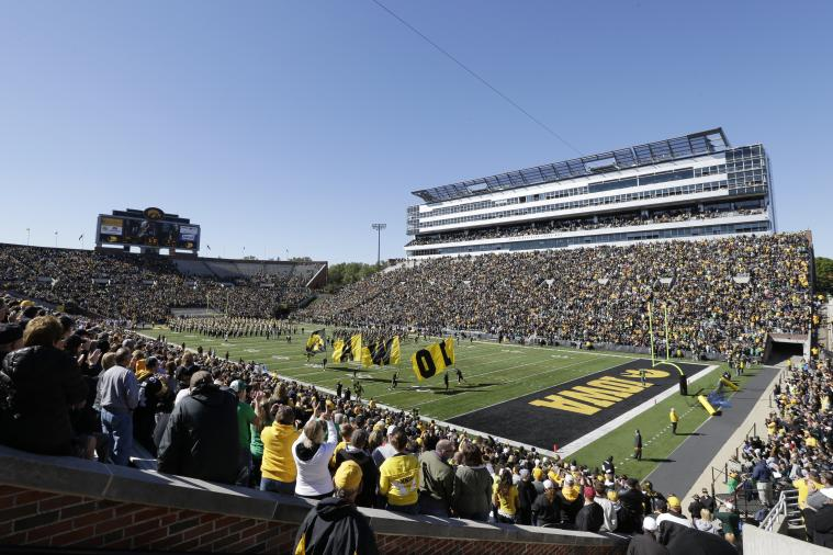 Iowa Will Give 5 Students Scholarships for Buying Football Season Tickets