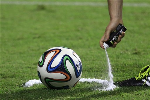 English Premier League Announces It Will Use Vanishing Spray This Season