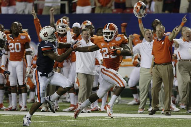 Auburn, Clemson Announce Future Home-and-Home Football Series