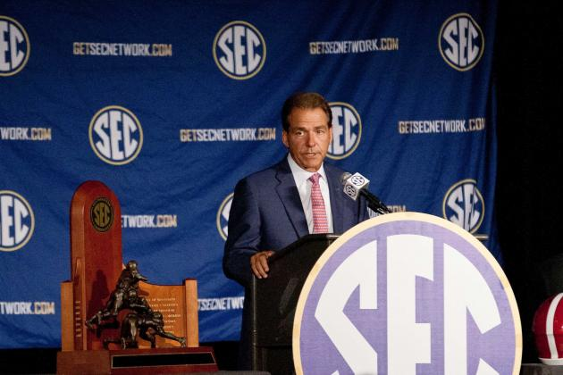 Why Alabama Needs SEC to Be Dominant in 2014