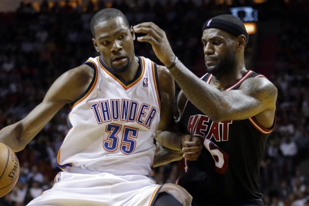 Kevin Durant Calls LeBron James' Move to Cleveland 'classy'