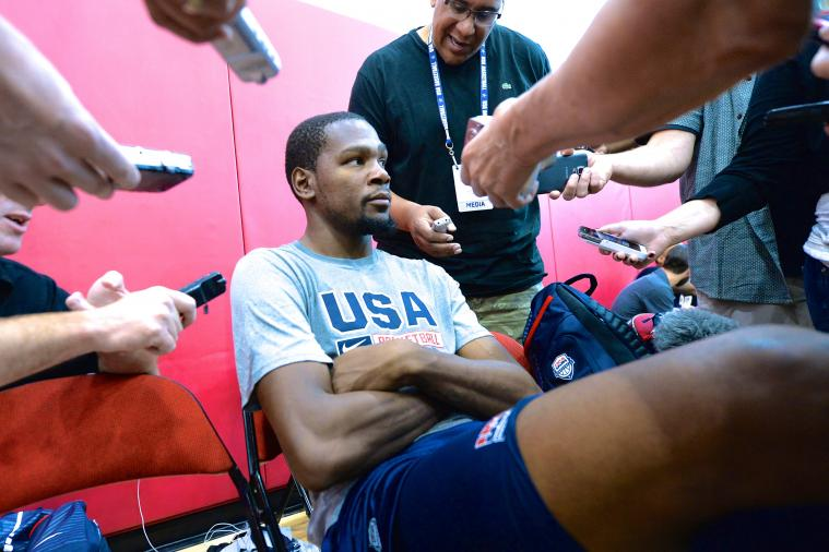 Kevin Durant Will Delete Twitter from His Smart Phone to Quiet the Noise