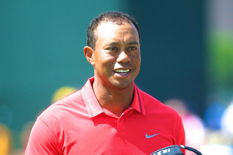 Tiger Woods Admits His Battle with Baldness Is a 'No-Win Fight'