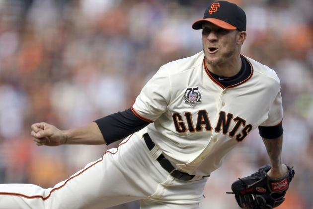 Giants' Jake Peavy, Former Cy Young Winner, Drops 10th Consecutive Decision