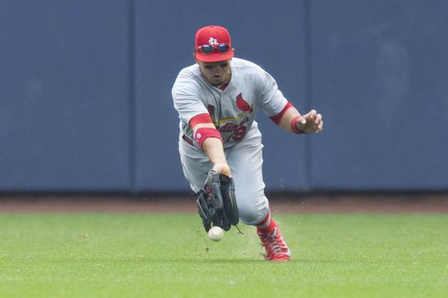 Cardinals Aren't Making Major-League Outfield Depth Work for Them