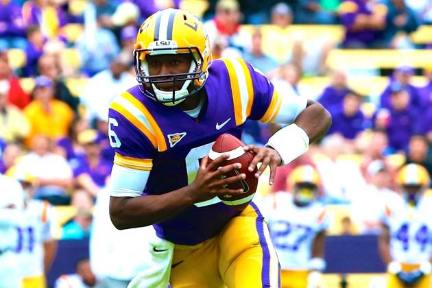 What Brandon Harris Needs to Do to Win LSU's QB Job in Fall Camp