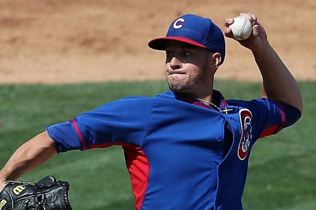 Cubs Recall Chris Rusin, Option Blake Parker