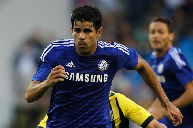Diego Costa and Cesc Fabregas Give Chelsea the Edge in Comfortable Vitesse Win