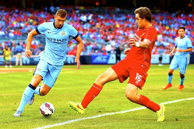 Liverpool vs. Manchester City: Score, Grades and Reaction for Pre-Season Match