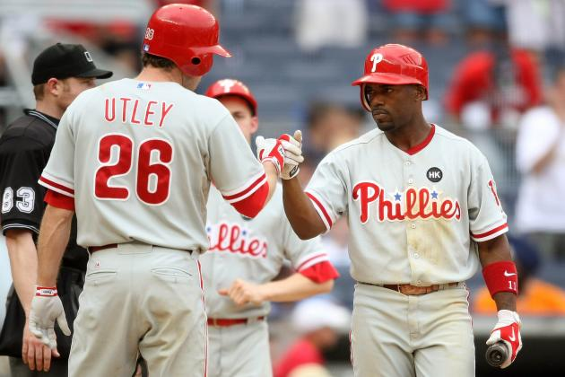 Phillies' Rollins and Utley Homer in Same Game for 23rd Time