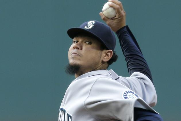 Felix on Short End of Another Quality Start, Mariners Lose to Indians 2-0