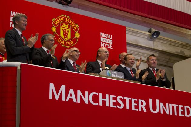 Manchester United Shares to Be Sold by Glazer Family Owners