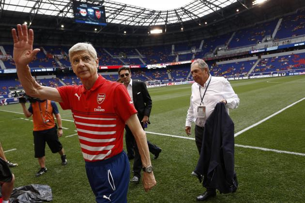Arsenal vs. Benfica: Date, Time, Live Stream, TV Info, Emirates Cup 2014 Preview