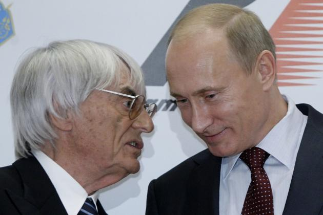 History Shows Ecclestone and F1 Will Do Everything to Avoid Canceling Russian GP