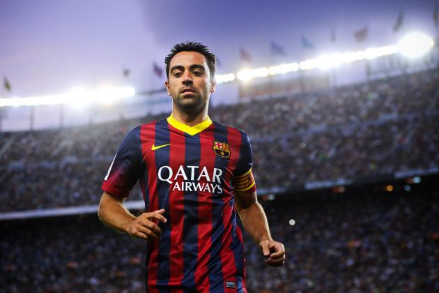 Predicting How Much Playing Time Xavi Will Get for Barcelona in 2014/15