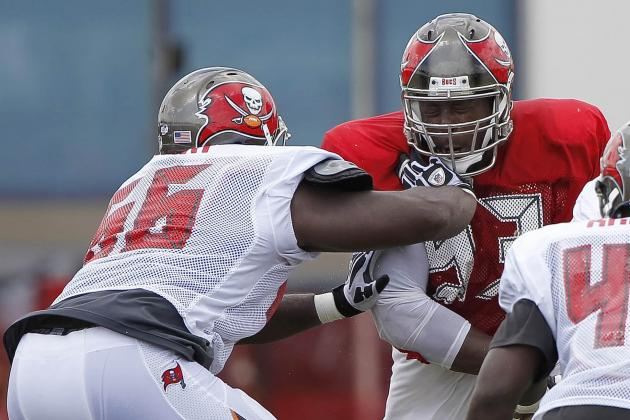 Bucs Players Get Feisty at Practice