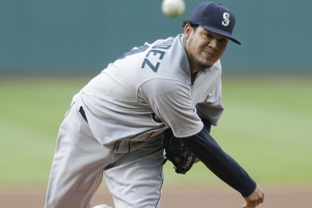 Mariners' Felix Hernandez Records 7+ IP & 2 Runs or Less in 14th Straight Outing